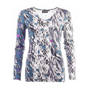 Myrna by NED blouse MYR21W2-404T-03 Grijs
